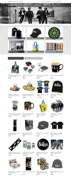 Beatles Fab Four Store Exclusively Beatles Only Official Merchandise Pavilion, The Beatles, Templates, Store, Link, Shopping, Role Models, Tent, Gazebo