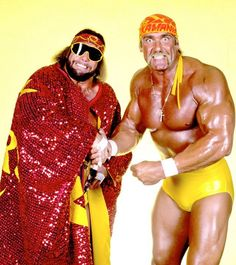 The Megapowers Savage and Hogan 1988 wwf