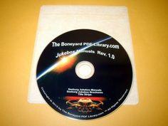 Seeburg Jukebox Manuals DVD