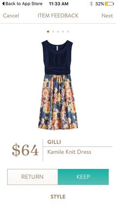 Dear Stitch Fix Stylist, I'd like to try a dress like this one. I think it's cute how the top and bottom are different. Dear Stitch Fix Stylist, I'd like to try a dress like this one. I think it's cute how the top and bottom are different. Stitch Fix Outfits, Stitch Fix Dress, Fix Clothing, Clothing Ideas, Cute Dresses, Summer Dresses, Work Dresses, Summer Outfits, Cool Outfits