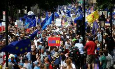 Anti-Brexit protest: thousands march two years after referendum Crowd of tens of thousands includes anti-Brexit Tories and Labour voters, alongside British and EU citizens #StopBrexitMarch #StopBrexitSaveBritain #StopBrexitSaturday
