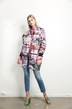 V-coat Stockholm Royal Pink