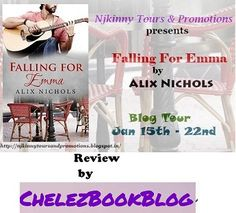 ChelezBookBlog loved Falling For Emma by Alix Nichols..Read the #BookReview here: http://www.chelezbookblog.blogspot.in/2015/01/falling-for-emma-alix-nichols.html #NjkinnyTours #Romance #Novella #Recommended