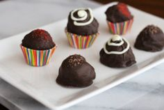 Make No-Bake Treats For Your Valentine - Chocolate Cherry Truffles