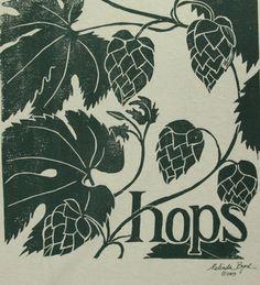 hops print - Google Search
