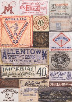 Creative Vintage, Label, Designs, Abduzeedo, and Graphic image ideas & inspiration on Designspiration Vintage Tags, Vintage Labels, Retro Vintage, Vintage Graphic, Vintage Decor, Label Design, Logo Design, Graphic Design, Ad Design
