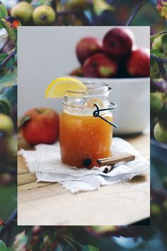 Fall's Perfect Cocktail: Apple Cider, Cardamom & Chicory Spirits