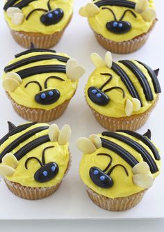 Get creative with our oh so sweet and easy to make bee cupcakes :) perfect for a picnic :D