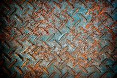 Grunge Textuur Roestige Metalen Plaat Achtergrond