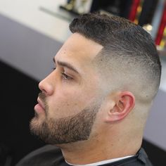 Bald Fade haircuts for men with their big face