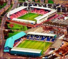 Tannadice and Dens Park Dundee