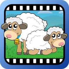 48 cortos de video de animales en HD . #infantil #android #app