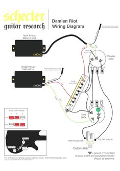 Fresh Wiring Diagram Guitar #diagrams #digramssample #