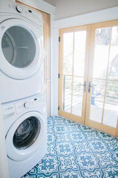 The Shotgun House - Magnolia Market Laundry Room Storage, Laundry Room Design, Laundry Rooms, Laundry Area, Magnolia Market, Magnolia Homes, Fixer Upper Shotgun House, Shotgun House Plans, Shotgun House Interior
