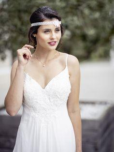 Hochzeitskleid im Bohemian-Style Bohemian Style, Wedding Dresses, Fashion, Dress Wedding, Wedding Dress, Bohemian Fashion, Curve Dresses, Bride Gowns, Wedding Gowns