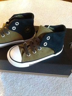 Converse Infant Boys Hi-Top Slip On Shoes  Sizes  7 2220c5a6fca8