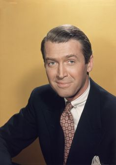 James (Jimmy) Stewart. He was a sweet, earnest, good-hearted sort of guy. In every film I ever saw him in, I was always completely in love with him. Great guy!