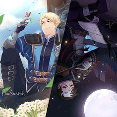 Alucard and granger ~ Mlbb Bang Bang, Fanart, Manga Anime, Anime Art, Alucard Mobile Legends, Moba Legends, Mobile Legend Wallpaper, Hero Wallpaper, Demon Hunter