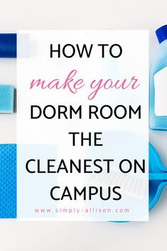 My dorm room felt so much cleaner after using the dorm room cleaning schedule. Here's the ultimate guide on how to keep your dorm clean and how to clean it. College Freshman Tips, College Packing Lists, College Dorm Essentials, College Life Hacks, College Fun, College Students, Freshman Year, Room Essentials, Dorm Cleaning