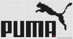 Pixel Art Logo, Pixel Art Grid, Fuse Bead Patterns, Loom Patterns, Beading Patterns, Cross Stitch Designs, Cross Stitch Patterns, Fair Isle Chart, Modele Pixel Art