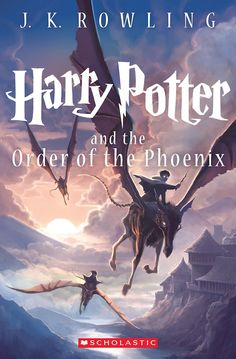 Kazu Kibuishi's Harry Potter and the Order of the Pheonix 15th Anniversary cover.  Kestrels!
