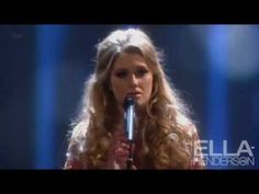"Ella Henderson performs Cher's hit ""Believe"" at the National Television Awards 2013 ... She is so amazing!!"