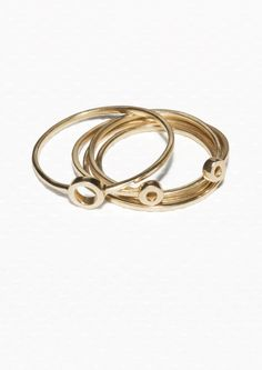 & Other Stories | Circle Brass Rings