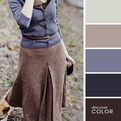 Я очень люблю картинки, на которых наглядно разобраны цветовые сочетания. Обычно, они основаны на натюрмортах и удачных примеров из природы. Но вот отличная подборка цветовых палитр, на которых разобраны интересные комплекты одежды и аксессуаров. Вдохновляемся. (меня больше всего впечатлил маленький модник в зеленых туфлях)