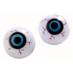 Spooky eyeballs for Halloween brain digging game