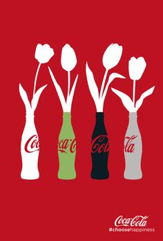 Love this @cocacola #poster 28745CC_tulpen