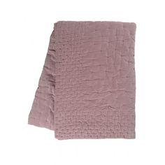 Linum Paolo Överkast Sammet 270x260 cm, Dusty Pink