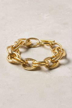 chain braccelet from anthropologie