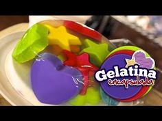 Gelatina Encapsulada (Receta y elaboración) - YouTube