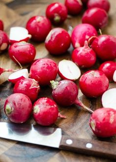 Roasted radishes are so EASY to make and SO tasty. Quick dinner side that's a little more interesting that a standard roasted veggie. You just need radishes, oil, salt, pepper, and 12 minutes!