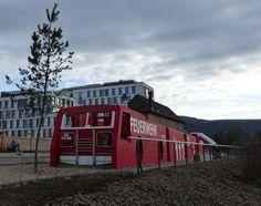 Heidelberg mit Kindern: Feuerwehr-Spielplatz in der Heidelberger Bahnstadt