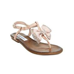 Steve Madden Shoes, Blingy Sandals - Beach wedding shoes