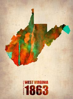 West Virginia 1863 #WV