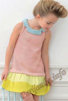 Стильное вязание для детей