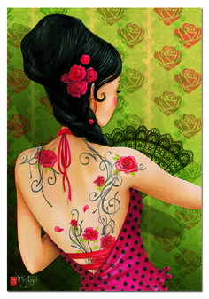 """Puzzle EDUCA """"Calima, MissTigri"""", 500 piezas #illustration #art"""