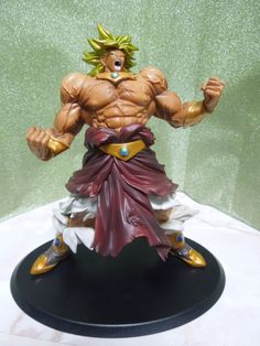 Dragon Ball DX MAX MUSCLE MANIA Broly Figure from Japan Mega Rare