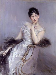Giovanni Boldini: Signora in bianco, 1902,