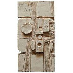Maquette for Wall Sculpture by Jean Derval | From a unique collection of antique and modern wall-mounted sculptures at https://www.1stdibs.com/furniture/wall-decorations/wall-mounted-sculptures/