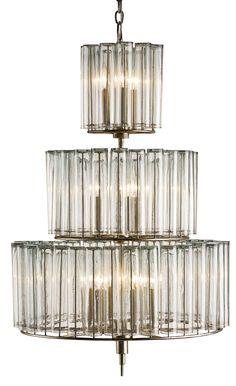 Bevilacqua Medium Chandelier design by Currey & Company