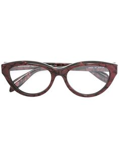 d4842e9b828a Alexander McQueen Eyewear Cat Eye Glasses