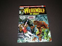 Werewolf by Night 10, (1973), Marvel Comics by HeroesRealm on Etsy