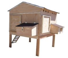 Creative Coops Hen House Starter Kit, Village by Creative Coops. $929.99. Includes two access doors and dropping trays. Holds up to 12 chickens. All parts pre-drilled and labeled for easy assembly. Made of sturdy 3/8-inch exterior plywood with 1x2 and 2x2-inch framing strips. Includes two large nest boxes. This is so much more than just another hen house. The Family Starter hen house is part of the Chicken Coop Starter kit series from Creative Coops which offers five essential i...