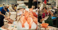 Com a minha mãe no mercado de peixe de Setúbal | Viagens à Solta