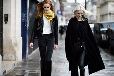 Paris Haute Couture Spring 2015 Street Style - Paris Haute Couture Spring 2015 Street Style Day 3