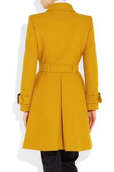 Burberry London | Ribbed cotton and wool-blend trench coat | NET-A-PORTER.COM