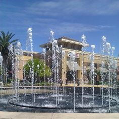 The Fountains, Roseville, California. Unsure whether it's true or not, but I've heard that it's world famous. ...I don't understand why, though, considering that the Galleria (across the street, practically) is better.